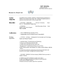 Network Engineer Resume Example by Telecom Engineer Cv