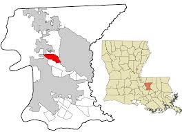 Louisiana Area Code Map by Brownfields Louisiana Wikipedia