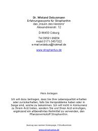 Hausarzt Bad Soden Dr Wieland Debusmann Strophantin Pdf