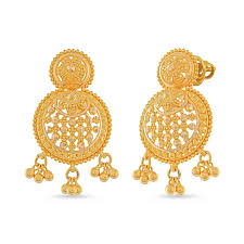 gold ear ring images 22kt gold earring by whp jewellers in 22kt purity velvetcase