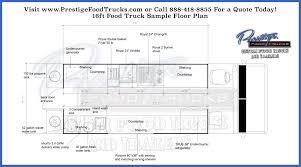 floorplan layout custom food truck floor plan sles prestige custom food truck
