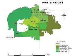 Flagstaff Arizona Map by Navajo Nation Department Of Fire U0026 Rescue Services