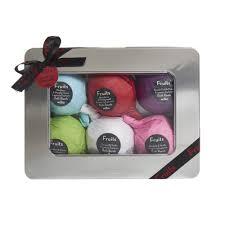 Wilkinsons Bathroom Accessories by Wilko Fruits Bath Bomb Tin Gift Set At Wilko Com