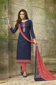 best cotton beautifull best quality girls evening wear cotton salwar kameez