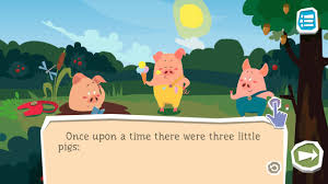 pigs interactive book kids