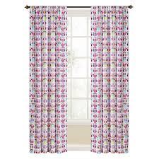 shop style selections trea 84 in multi polyester rod pocket light