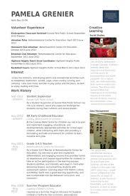 student supervisor resume samples visualcv resume samples database