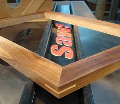 miter cuts on table saw cutting spline a miters on a table saw woodworking