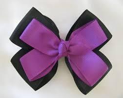 hair bow ribbon hair bow ribbon etsy