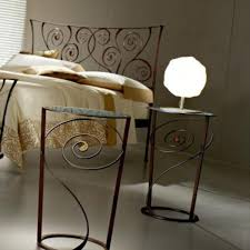 Metal Bedside Table Embossed Metal Bedside Table U2014 New Interior Ideas Metal Bedside