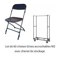 Chaise Coque Plastique Empilable Accrochable Non Feu M2 Table Polyethylene