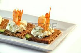 rye bread canapes canapes rye bread with ricotta cheese and smoked salmon stock