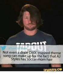 Aj Styles Memes - 25 best memes about aj styles soccer mom aj styles soccer