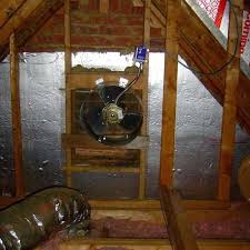 who replaces attic fans thermostat controlled attic fan how to replace an attic fan