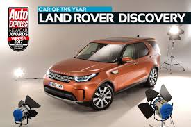 peugeot car of the year car of the year 2017 land rover discovery new car awards 2017