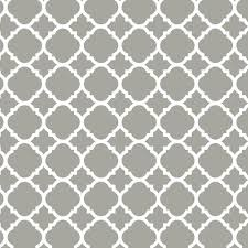 Kitchen Cabinet Drawer Liners by Liberty 18 In Gray Quatrefoil Adhesive Shelf Liner Dln005 Gr C