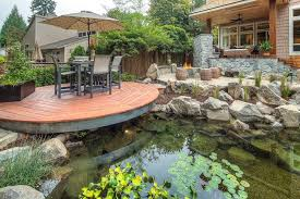 diy backyard pond design and ideas of house media magazine