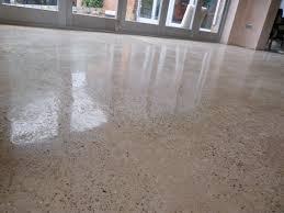 polished concrete floors as strong base flooring amaza design