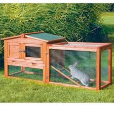 Rabbit Hutch Plastic Trixie 2 Story Rabbit Hutch M Free Shipping Today Overstock