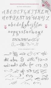 beautiful feminine fonts design stuff pinterest fonts
