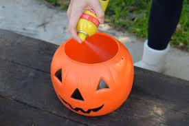 plastic pumpkins and painting cement pumpkins bungalow 47