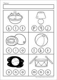 ending sounds practice kindergarten kindergarten phonics and