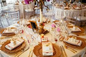 table top decor doube luxury event rentals
