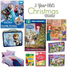 christmas wish list 5 year old