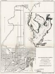 Map Of Tampa Fl 1910 Tampa Map Of River And Bay Depths
