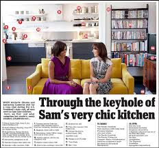 Obama Kitchen Cabinet - a glimpse into the modern home of david and samantha u0027two kitchens