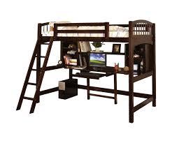 Loft Bed With Computer Desk Hokku Designs Alexis Twin Loft Bed U0026 Reviews Wayfair