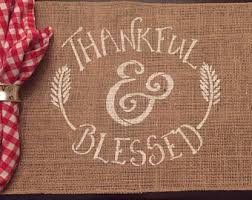 thankful placemats gratitude placemat thanksgiving table setting thanksgiving