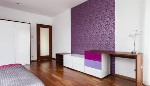 interior design bedroom feature wall