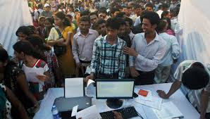 Seeking In India Desperate For India S Graduates Are Working As Drivers