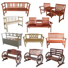 Used Metal Patio Furniture - foxhunter 2 3 seater wooden bench chair table outdoor furniture