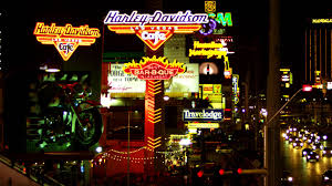 Harley Davidson Patio Lights by Neon Sign Of Harley Davidson Cafe On Las Vegas Strip Youtube