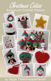 cuties amigurumi crochet pattern chrismas ornaments