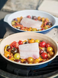 flounder with roasted tomatoes seafood recipe salt water sportsman