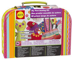 amazon com alex toys craft my first sewing kit toys u0026 games