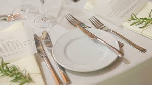 plates for wedding wedding table setted for celebration plates forks white