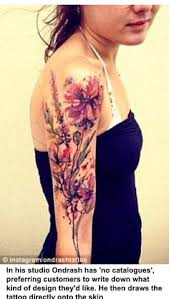 Miami Ink Flower Tattoo Designs - 40 cool and pretty sleeve tattoo designs for women peonies