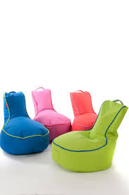 Outdoor Bag Chairs Accessories Cool Image Of Round Pink Outside Bean Bags For