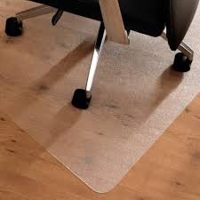 Office Chair Mat For Laminate Floor Home Office Non Slip Pvc Desk Chair Mat Carpet Floor Protector