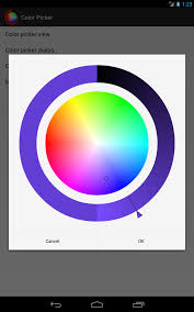 android color color picker for android chiral code