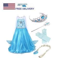 elsa dress ebay