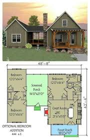 open floor house plans with loft 442 best second home images on small house plans