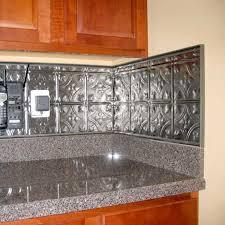 metal kitchen backsplash metal kitchen backsplash ideas home interior