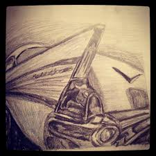 old car drawing belair pencil drawing tattoos and drawings by