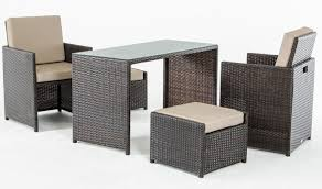 Patio Dining Table Set - renava balcony outdoor dining set in beige brown free shipping