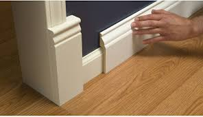 Where To Nail Chair Rail A Stroll Thru Life Install Wide Baseboard Molding Over Existing